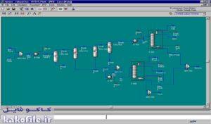 شبیه سازی تولید گاز
