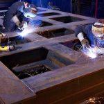 دانلود پاورپوینت اتصالات جوشی در صنعت ساختمان