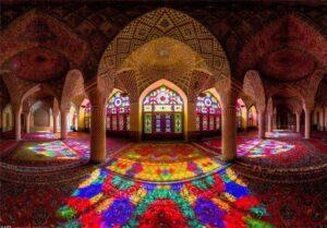 پاورپوینت مقایسه معماری ایرانی و غربی