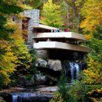 پاورپوینت معماری ارگانیک و خانه آبشار